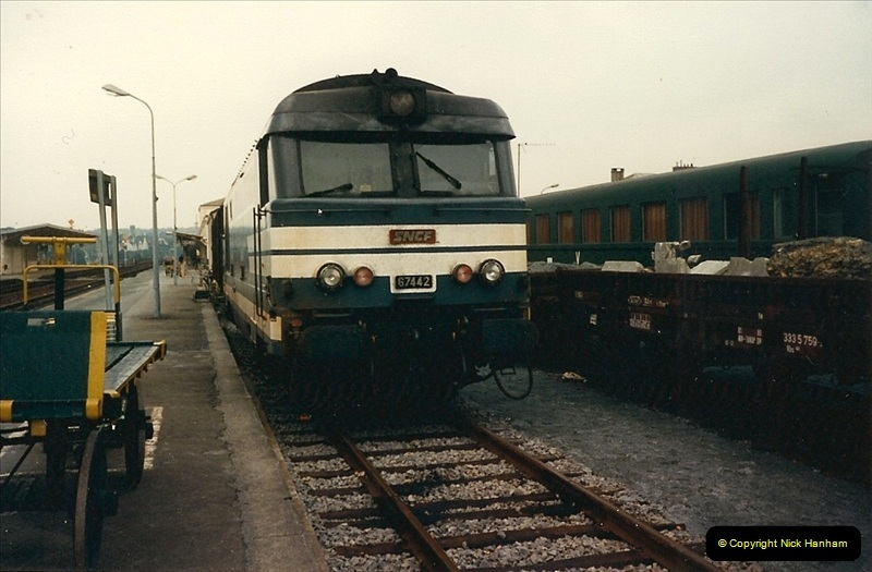 1987-07-15 to 25 SNCF mostly in the Morlaix area (10)178