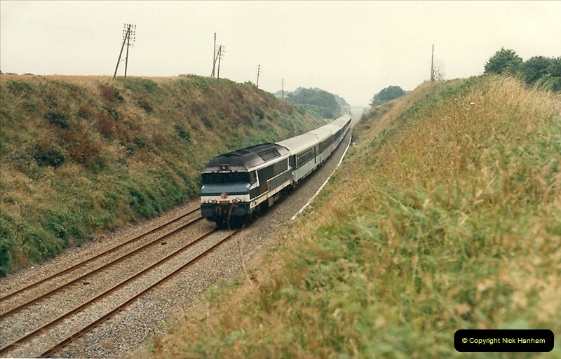 1987-07-15 to 25 SNCF mostly in the Morlaix area (54)222