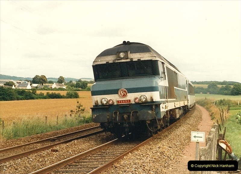 1987-07-15 to 25 SNCF mostly in the Morlaix area (58)226