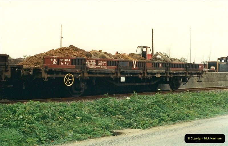 1988- 10- 10 to 20 Morlaix area & the wires going up. Rennes to Brest project.  (4)240