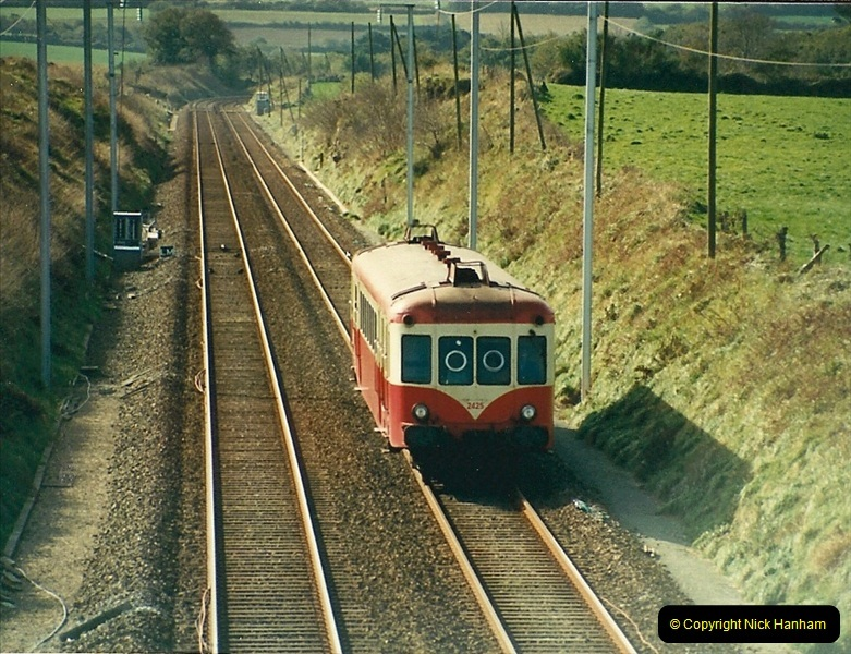 1988- 10- 10 to 20 Morlaix area & the wires going up. Rennes to Brest project.  (11)247