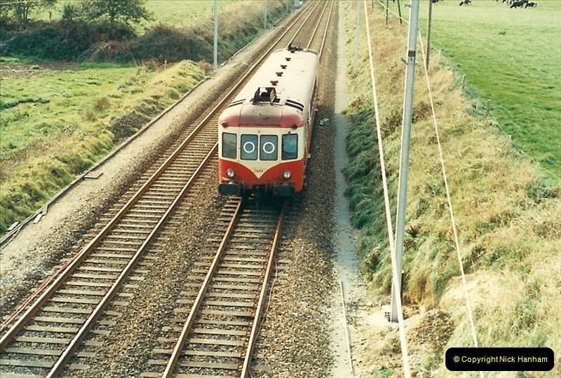 1988- 10- 10 to 20 Morlaix area & the wires going up. Rennes to Brest project.  (19)255