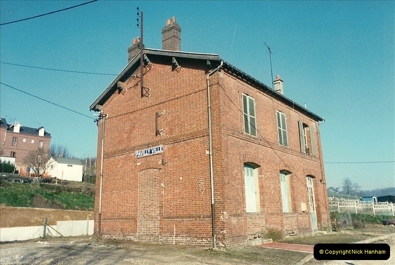 1990-02-23 Pavilly Ville. Now disused.309
