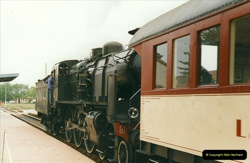 1999-07-12 Steam Paimpol to Pontrieux, Brittany, France.  (3)410