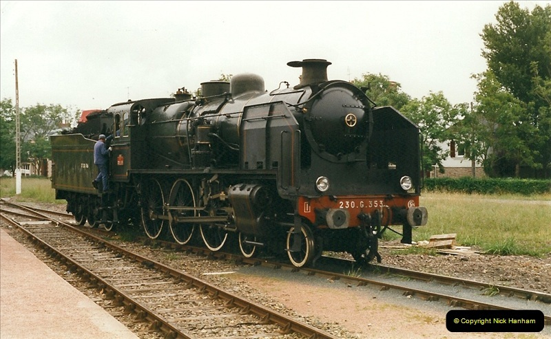 1999-07-12 Steam Paimpol to Pontrieux, Brittany, France.  (5)412