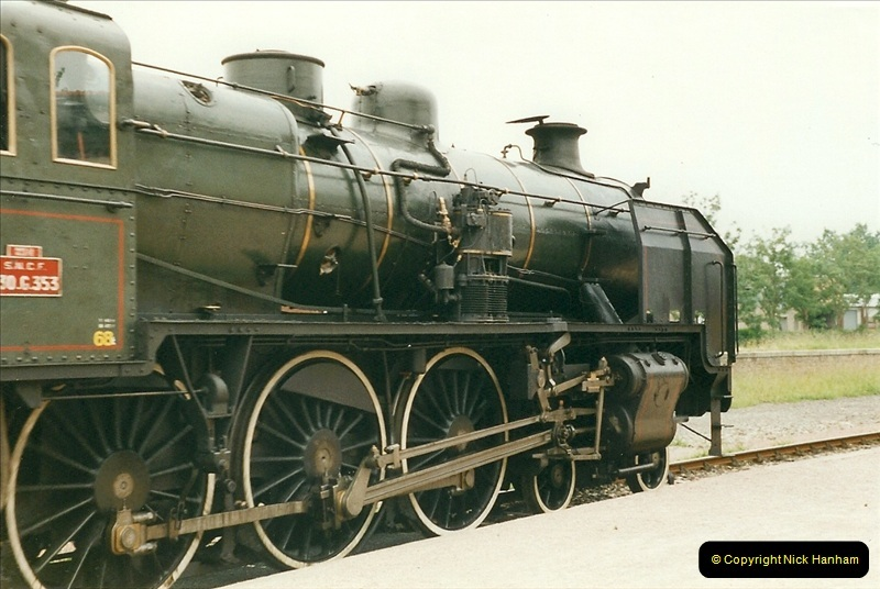 1999-07-12 Steam Paimpol to Pontrieux, Brittany, France.  (7)414