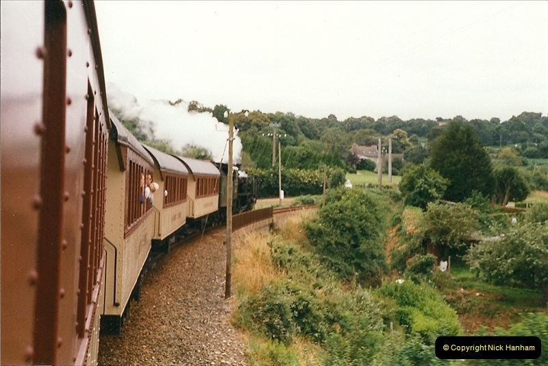1999-07-12 Steam Paimpol to Pontrieux, Brittany, France.  (9)416