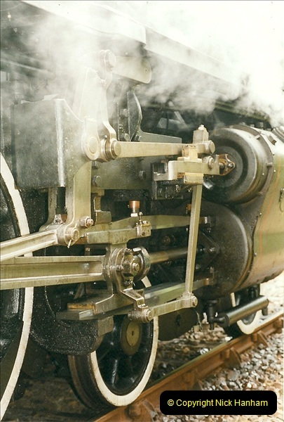 1999-07-12 Steam Paimpol to Pontrieux, Brittany, France.  (12)419