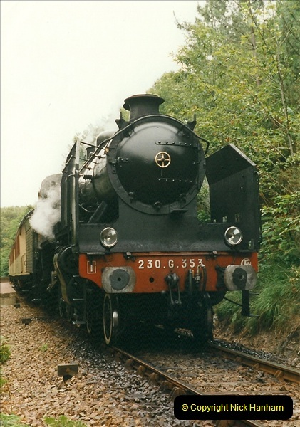 1999-07-12 Steam Paimpol to Pontrieux, Brittany, France.  (13)420