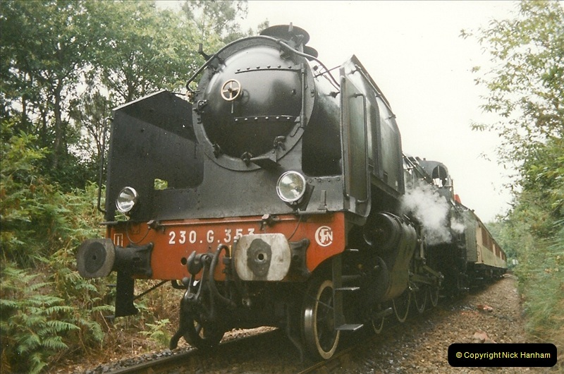 1999-07-12 Steam Paimpol to Pontrieux, Brittany, France.  (14)421