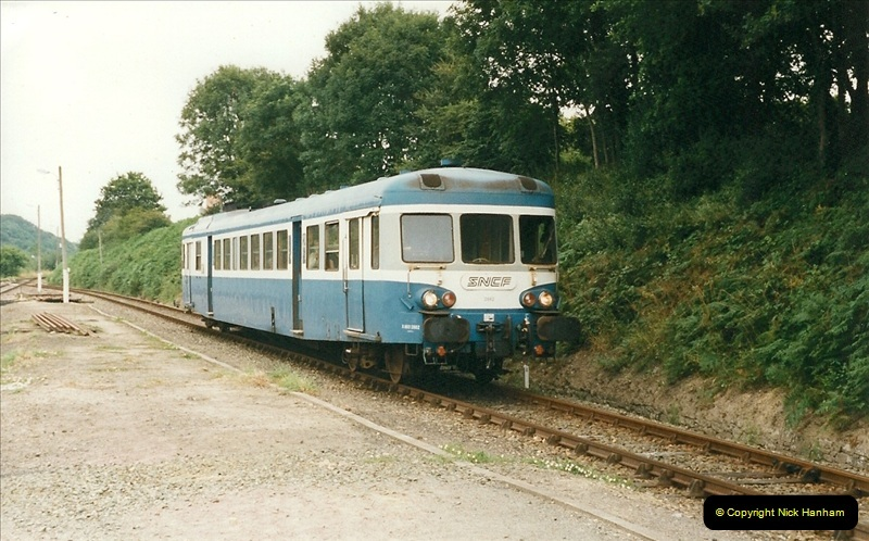 1999-07-12 Steam Paimpol to Pontrieux, Brittany, France.  (25)432