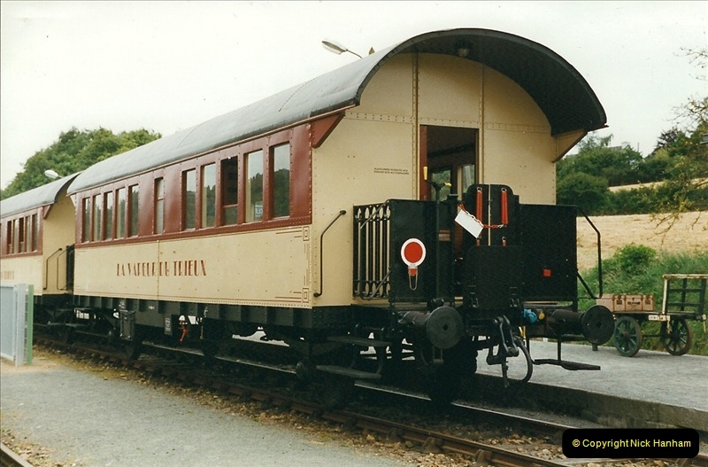 1999-07-12 Steam Paimpol to Pontrieux, Brittany, France.  (30)437