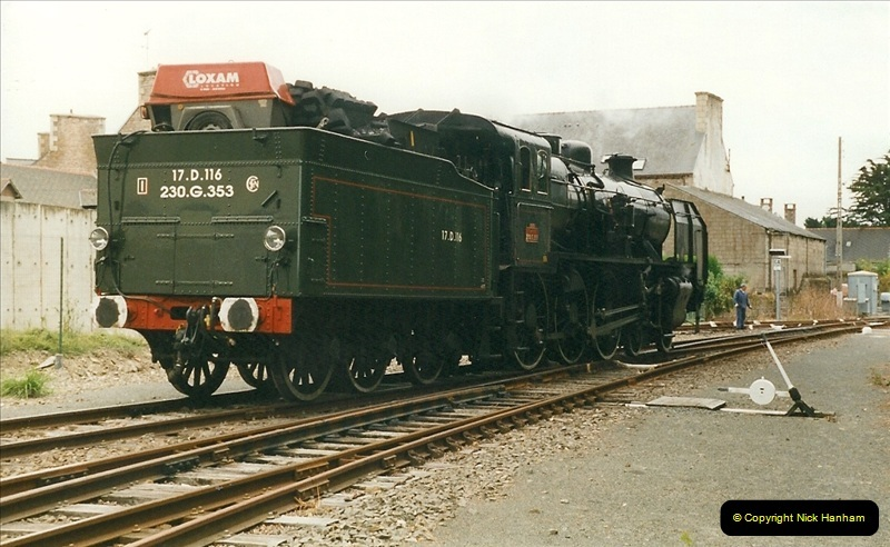 1999-07-12 Steam Paimpol to Pontrieux, Brittany, France.  (33)440