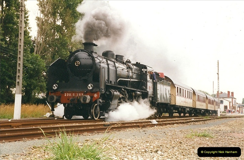 1999-07-12 Steam Paimpol to Pontrieux, Brittany, France.  (34)441