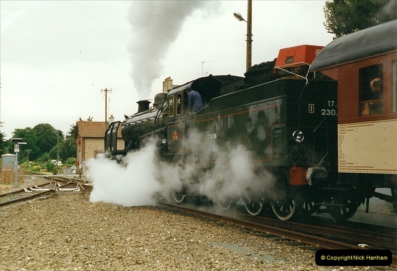 1999-07-12 Steam Paimpol to Pontrieux, Brittany, France.  (35)442