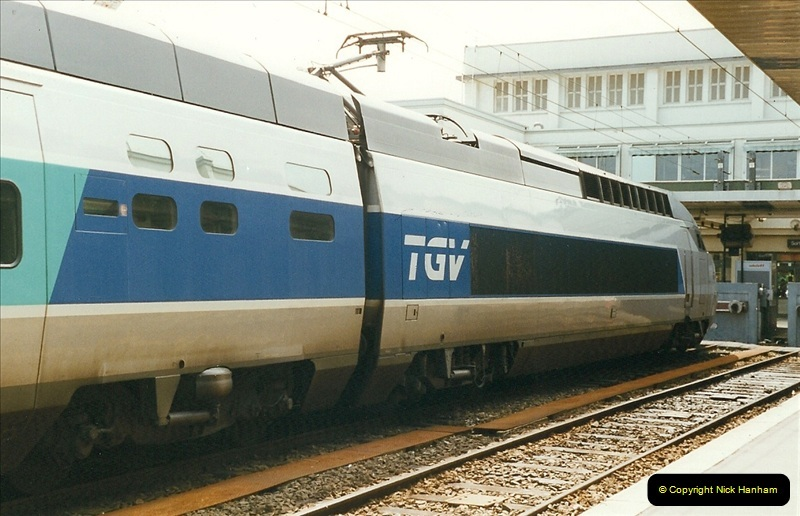 1999-07-13 Your Host is treated to a special guided tour of Brest station.  (8)451