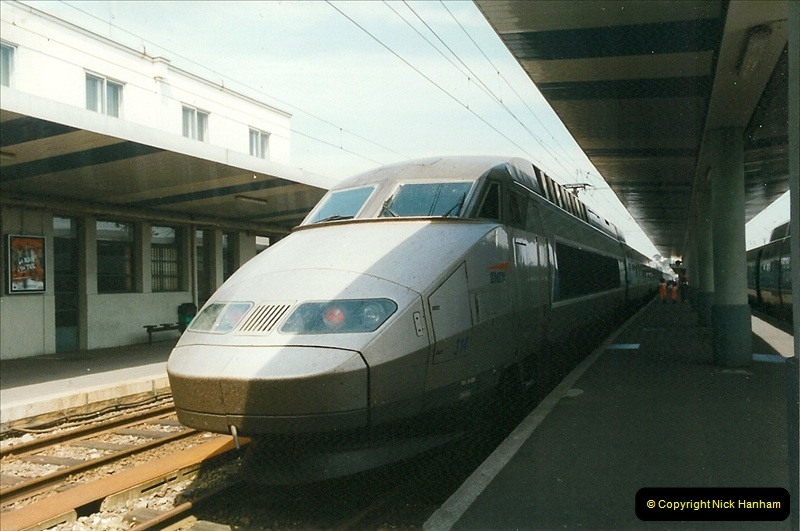 1999-07-13 Your Host is treated to a special guided tour of Brest station.  (10)453