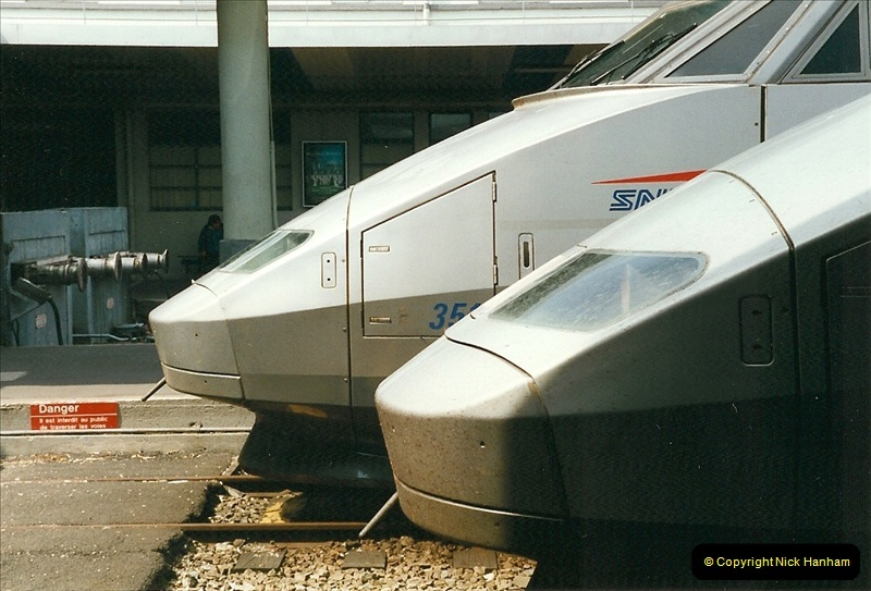 1999-07-13 Your Host is treated to a special guided tour of Brest station.  (11)454