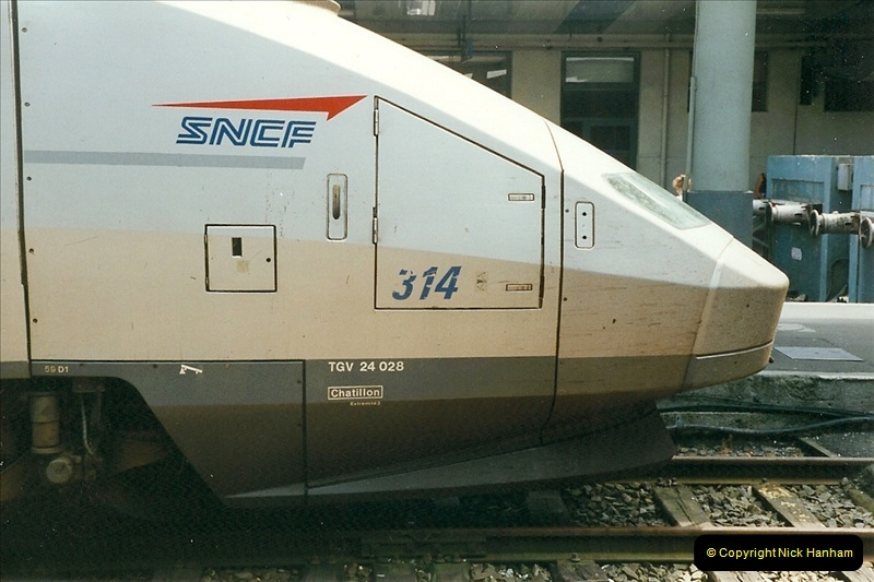 1999-07-13 Your Host is treated to a special guided tour of Brest station.  (12)455