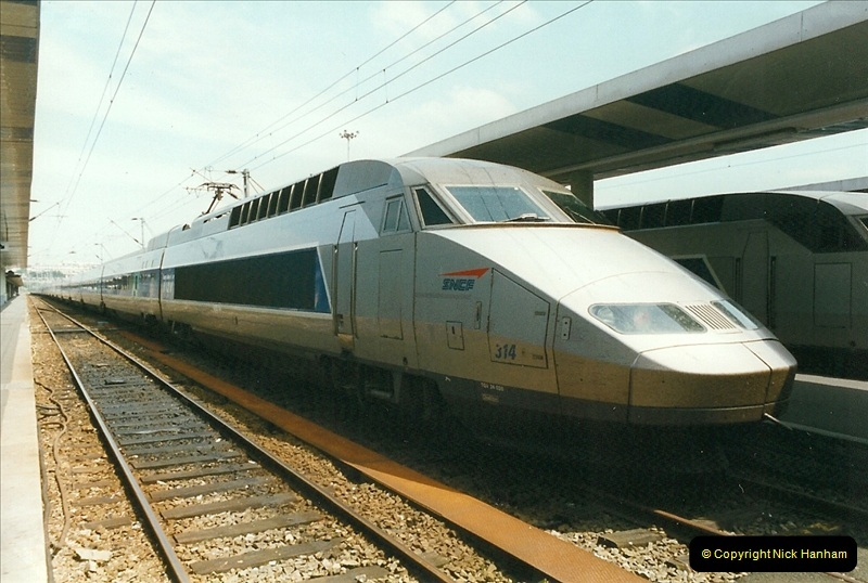 1999-07-13 Your Host is treated to a special guided tour of Brest station.  (13)456