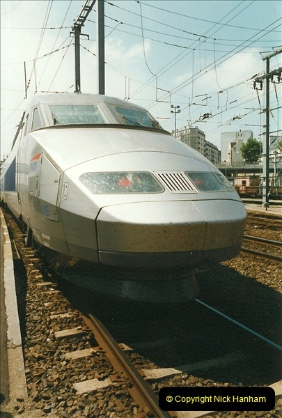 1999-07-13 Your Host is treated to a special guided tour of Brest station.  (17)460