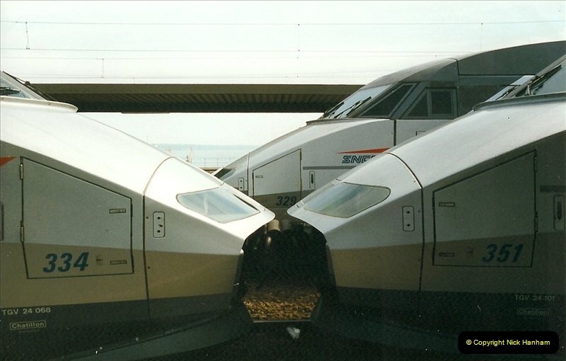1999-07-13 Your Host is treated to a special guided tour of Brest station.  (19)462