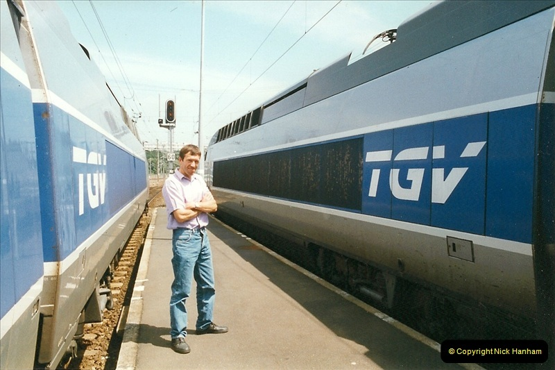 1999-07-13 Your Host is treated to a special guided tour of Brest station.  (20)463