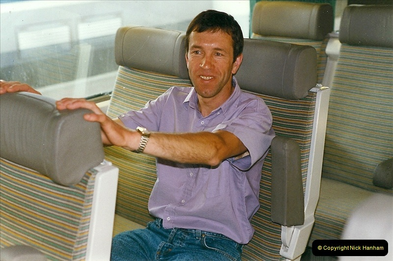 1999-07-13 Your Host is treated to a special guided tour of Brest station.  (22)465