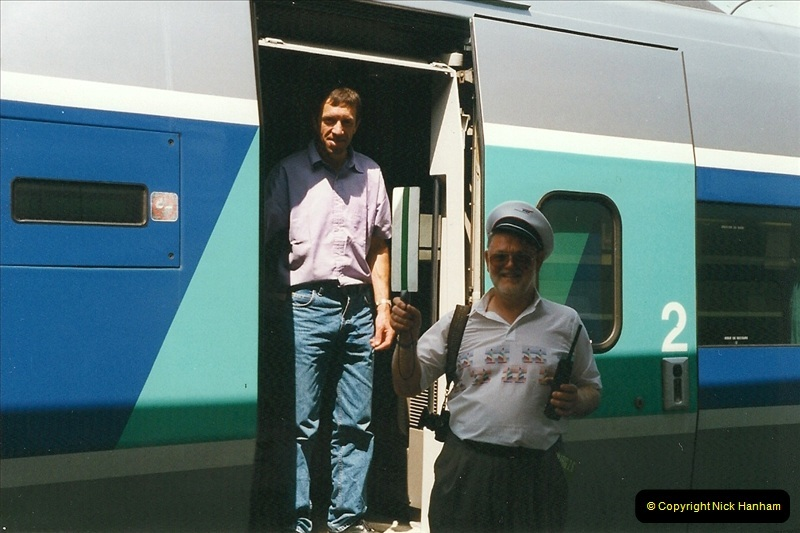 1999-07-13 Your Host is treated to a special guided tour of Brest station.  (23)466
