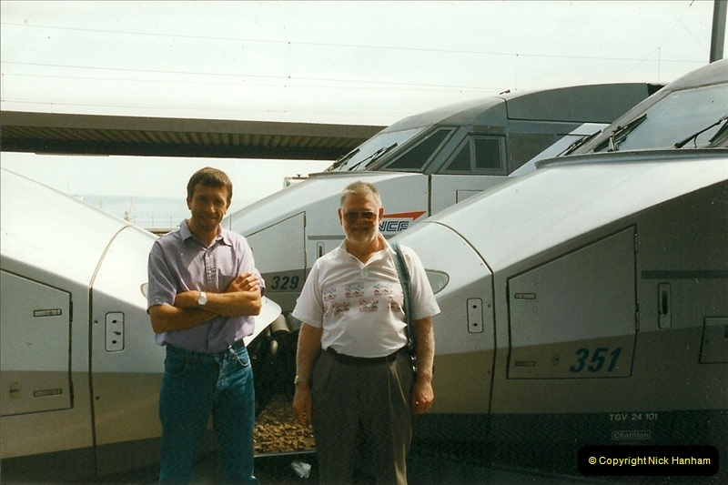 1999-07-13 Your Host is treated to a special guided tour of Brest station.  (24)467