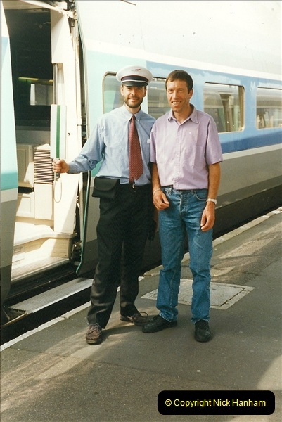 1999-07-13 Your Host is treated to a special guided tour of Brest station.  (25)468