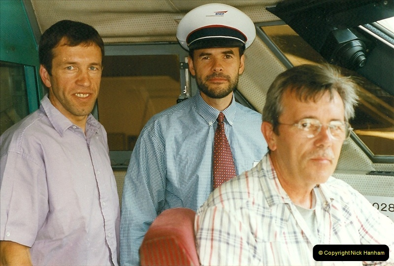 1999-07-13 Your Host is treated to a special guided tour of Brest station.  (29)472