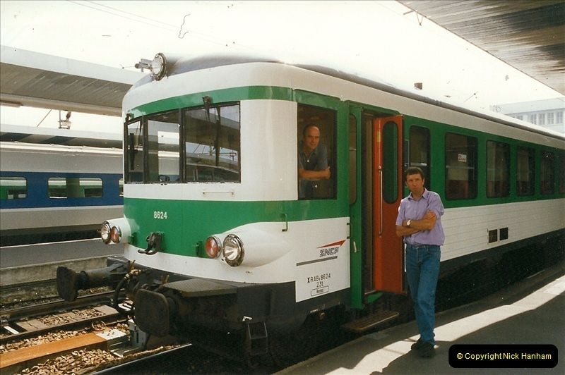 1999-07-13 Your Host is treated to a special guided tour of Brest station.  (32)475