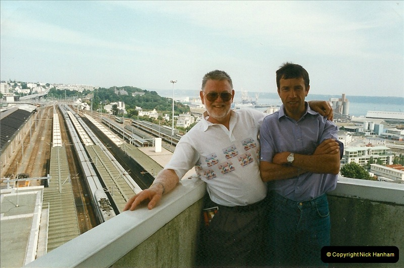 1999-07-13 Your Host is treated to a special guided tour of Brest station.  (35)478