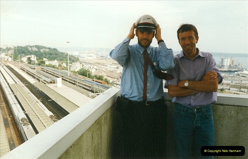 1999-07-13 Your Host is treated to a special guided tour of Brest station.  (36)479