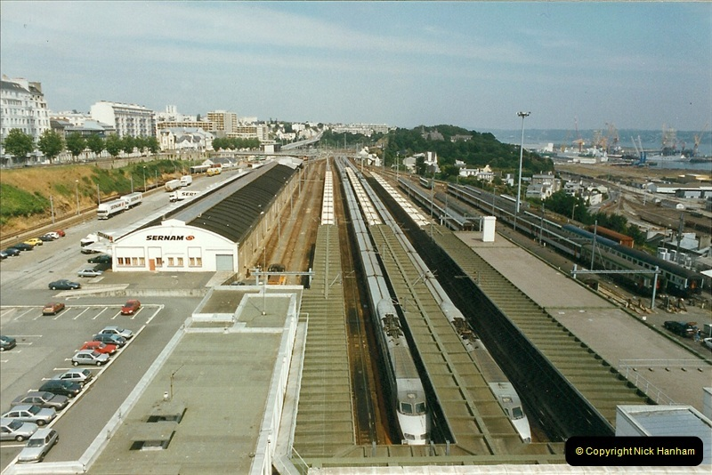 1999-07-13 Your Host is treated to a special guided tour of Brest station.  (38)481