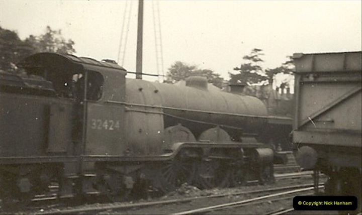 1955 to 1959 British Railways in Black & White. Local Bournemouth & Poole. (11)011