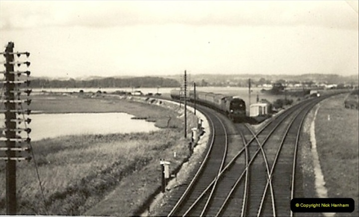 1955 to 1959 British Railways in Black & White. Local Bournemouth & Poole. (17)017