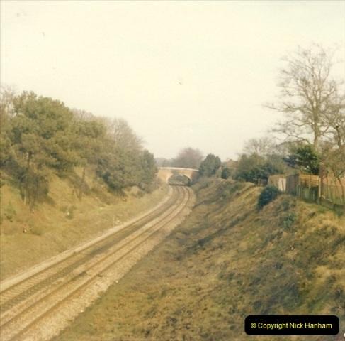 1977 Summer. Parkstone, Poole, Dorset.   (5)068