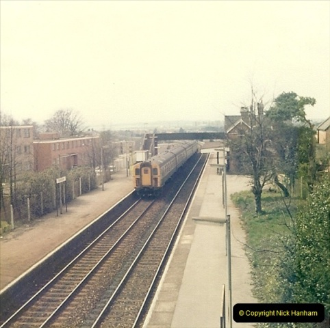 1977 Summer. Parkstone, Poole, Dorset.   (10)073