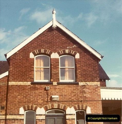 1977 Summer. Parkstone, Poole, Dorset.   (15)078