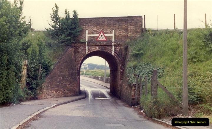 1981 May. Parkstone, Poole, Dorset.  (3)131