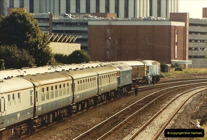 1984-10-11 VSOE Stock @ Poole, Dorset.  (6)186