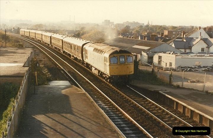 1984-11-10 VSOE Stock @ Parkstone, Poole, Dorset.  (1)188