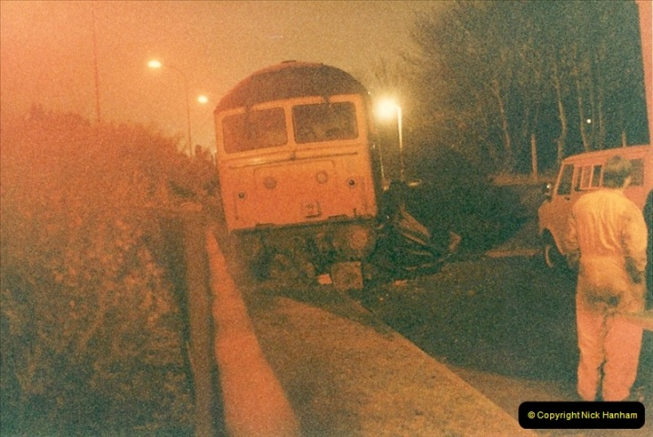 1985-12-11 47246 runs away from Bournemouth Depot. (3)302