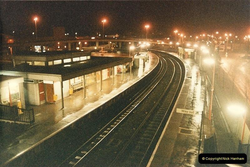 1986-10-21 Poole & Branksome Depot, Dorset.  (1)0217