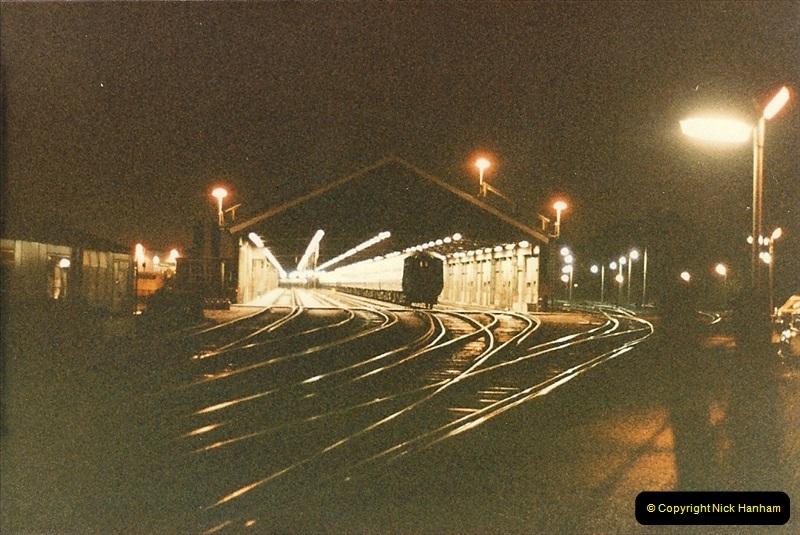 1986-10-21 Poole & Branksome Depot, Dorset.  (2)0218