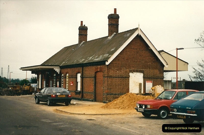 1987-10-13 Hamworthy Junction, Poole, Dorset.  (1)0367