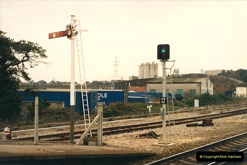 1987-10-13 Hamworthy Junction, Poole, Dorset.  (3)0369