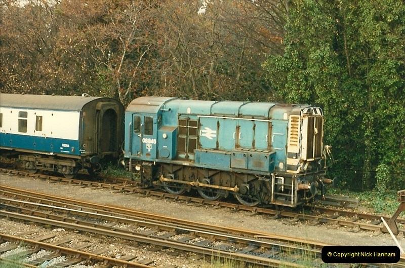 1987-11-05 Bournemouth Depot, Bournemouth, Dorset.  (2)0432
